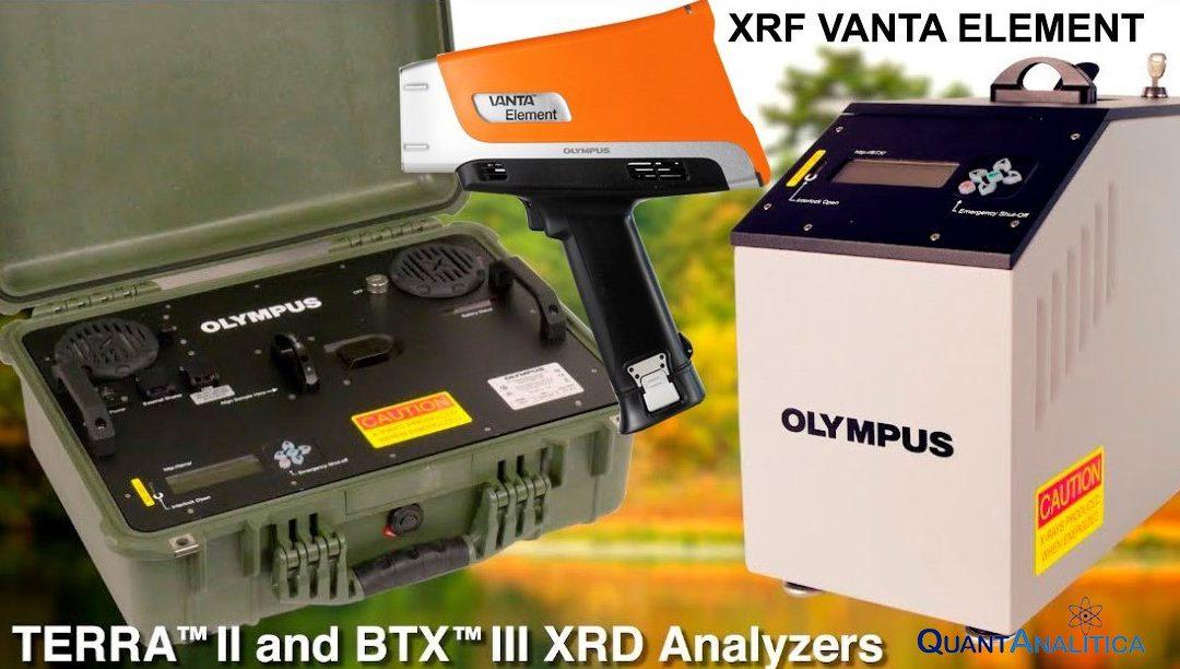 I nuovi modelli di XRF e XRD/XRF di Olympus