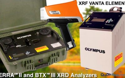 The new Olympus XRF & XRD/XRF models