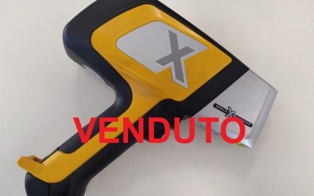 Analizzatore XRF portatile Delta Standard (leghe e metalli) – Usato e ricondizionato – VENDUTO