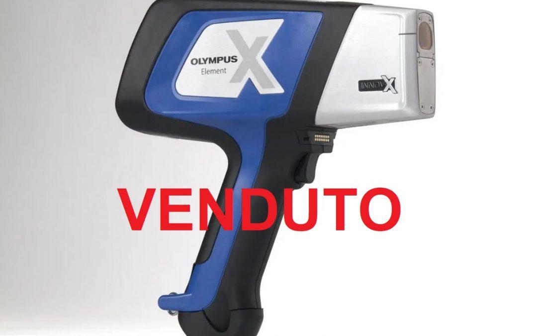 Analizzatore XRF portatile Olympus Delta Element – VENDUTI