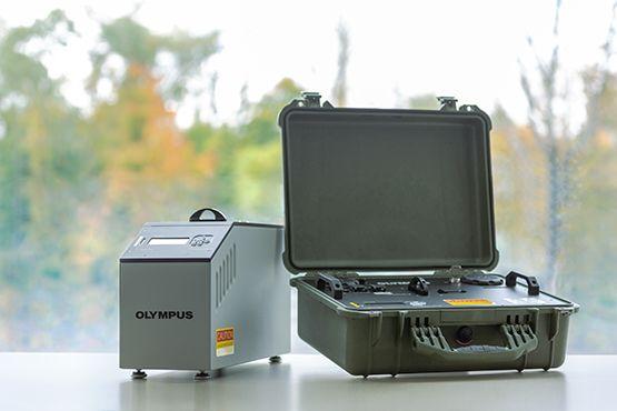 Diffrazione dei raggi X Olympus per laboratori didattici e ricerca accademica